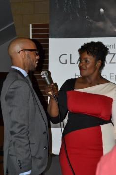 Allegra and Darnell from FashionAfricana