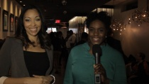 "Allegra and Vanessa of Steel City Live at the launch of Vanessa's new show, ""A Taste of the City"""