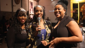 De'Saundra, Megan and TaKiya at the 12th annual FashionAFRICANA celebration