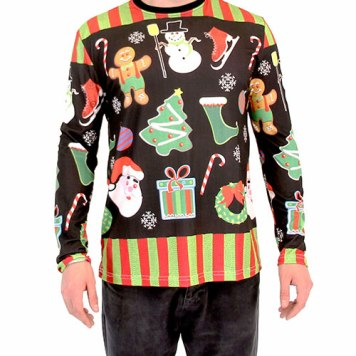 Guys can get ugly too! uglychristmassweater.com