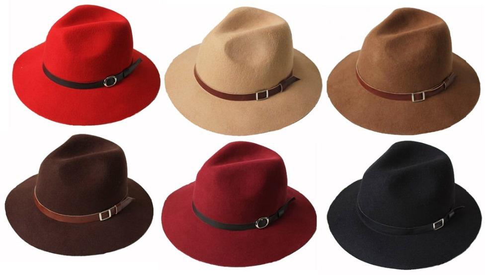 6dd8ae6f3c3 Wholesale-6pcs-Lot-Women-Floppy-Wool-Fedora-Hat-Ladies-Winter-Felt-Hats -Fashion-Mens-Autumn-Trilby