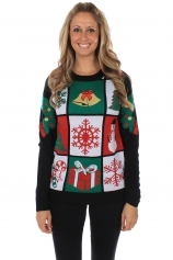 Women's Ugly Panel Sweater tipsyelves.com