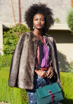 Wear it with mixed prints like this Jack by BB Dakota faux fur jacket http://bit.ly/2fJcNpQ