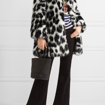 Wear it with sneakers like with this MARC JACOBS Embellished leopard-print faux fur coat http://bit.ly/2gbsF4Z