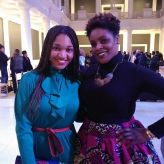 Wadria Taylor, founder of Style Week Pittsburgh and CitySTYLE's Allegra at FashionAfricana
