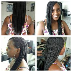My amazing Jamaican stylist Felicia did a fabulous job on my hair