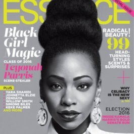 "Our official ""hair crush"" Teyonah Parris"