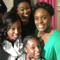 De'Saundra, MEgan, Allegra and Ryann