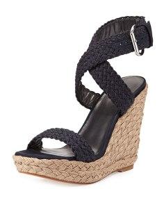 Stuart Weitzman Alex Crochet Wedge Sandal Now $260.00 Orig $325.00