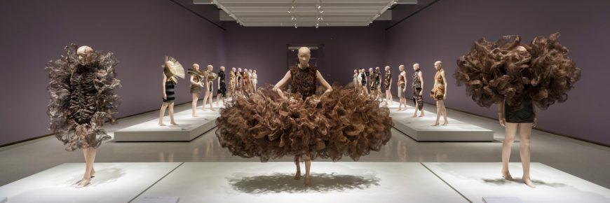 Iris van Herpen: Transforming Fashion installation at Carnegie Museum of Art, Photo by Bryan Conley