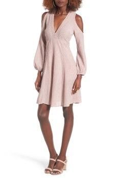 Cold Shoulder Dress LUSH $65.00