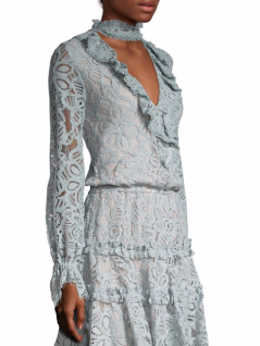 Alexis Catalina Choker Lace Dress $462.00