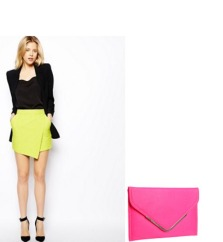NEONS - YES! They are back and bolder than ever! Try a colorblock pattern to really stand out!