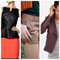 VEGAN LEATHER - Lightweight, breathable and a dose of edgy to your look!