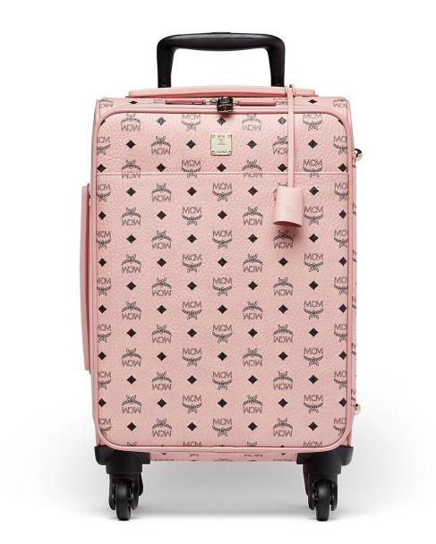 MCM Voyager Visetos Travel Trolley/Rolling Carryon Suitcase