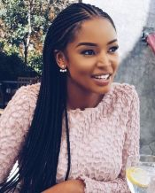 Cute and Simple Long Braids
