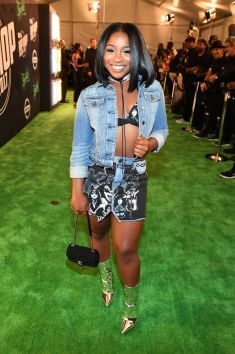 Rapper Lil Wayne's baby girl Reginae. Photo courtesy of BET.com
