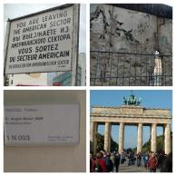 Berlin Memories! Checkpoint Charlie, part of the Berlin wall, office of the German Chancellor and Brandenburg Gate