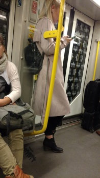Sneaking pics of stylish people on the subway